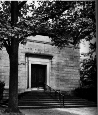 The Annmary Brown Memorial / library.brown.edu