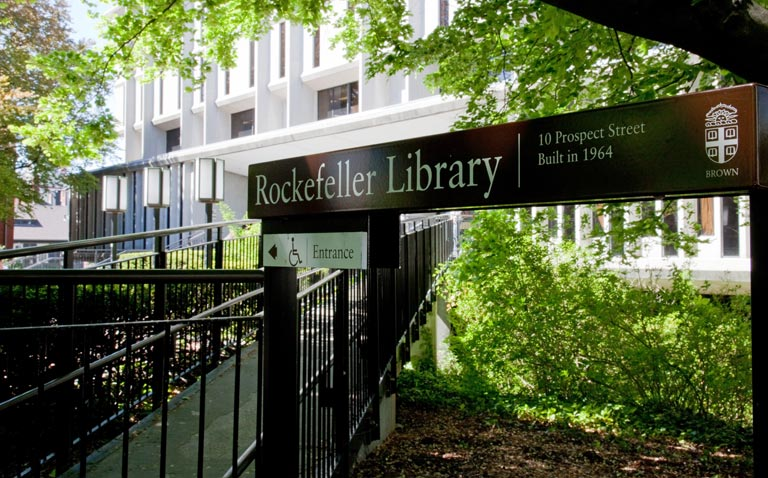 Brown University Library John D Rockefeller Jr Library