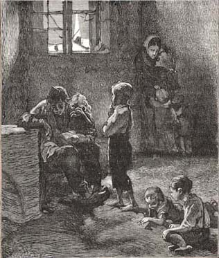 poverty in les miserables