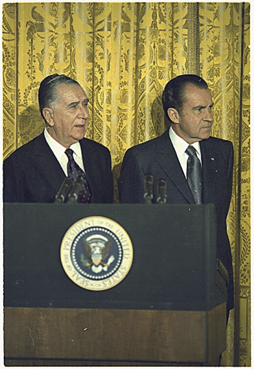 Nixon Administration Cabinet Mcdici Brazil Five Centuries Of Change