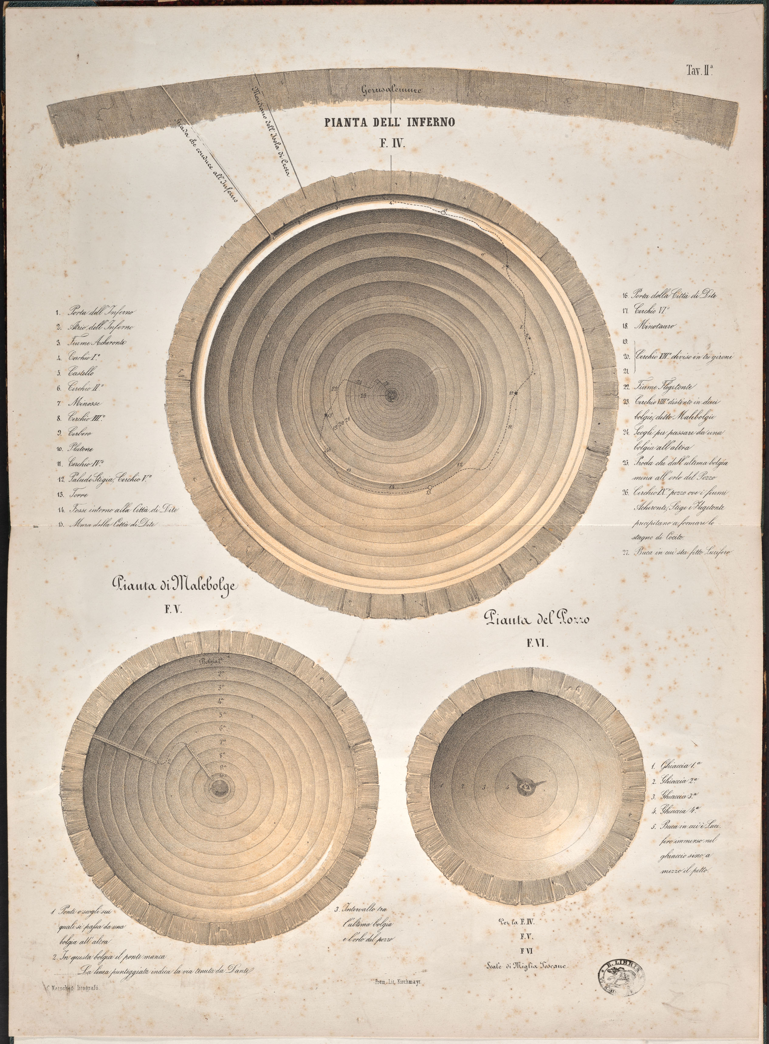 Archeology And Mathematics Dante In The 19th Century The