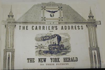 Carrier New York New York Herald Dot
