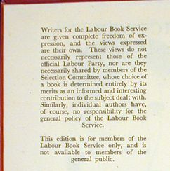 george orwell an exhibition from the daniel j leab collection  victory or vested interest notice opposite title page 15 george orwell