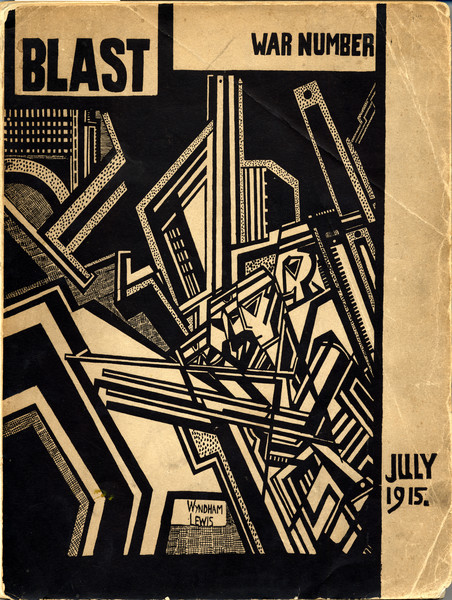 "Art: Wyndham Lewis, ""Before Antwerp"""