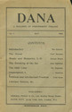 cover page of Dana