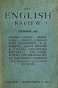 cover page of The English Review