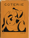 cover page of Coterie